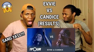 Video Evvie vs Candice: They FIGHT For Their Life! | The Finale | The Four (REACTION) download MP3, 3GP, MP4, WEBM, AVI, FLV Mei 2018