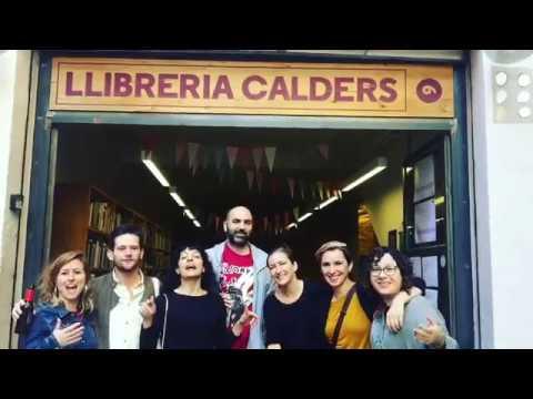 Escriptors a la llibreria Calders