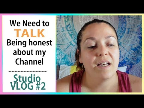 ♦ Studio vlog let&39;s be honest ♦ The future of my channel
