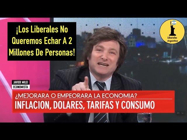 ¡Javier Milei Predijo La Crisis De La Argentina! -12/03/18