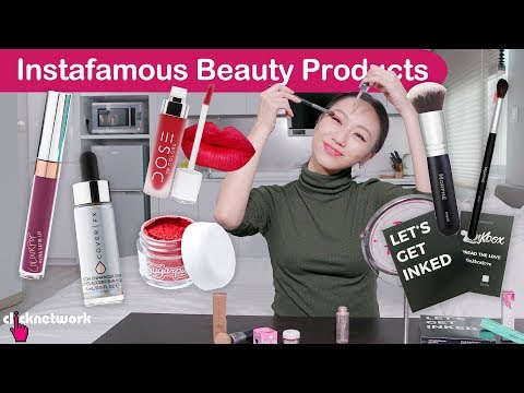 Instafamous Beauty Products  Tried and Tested: EP122