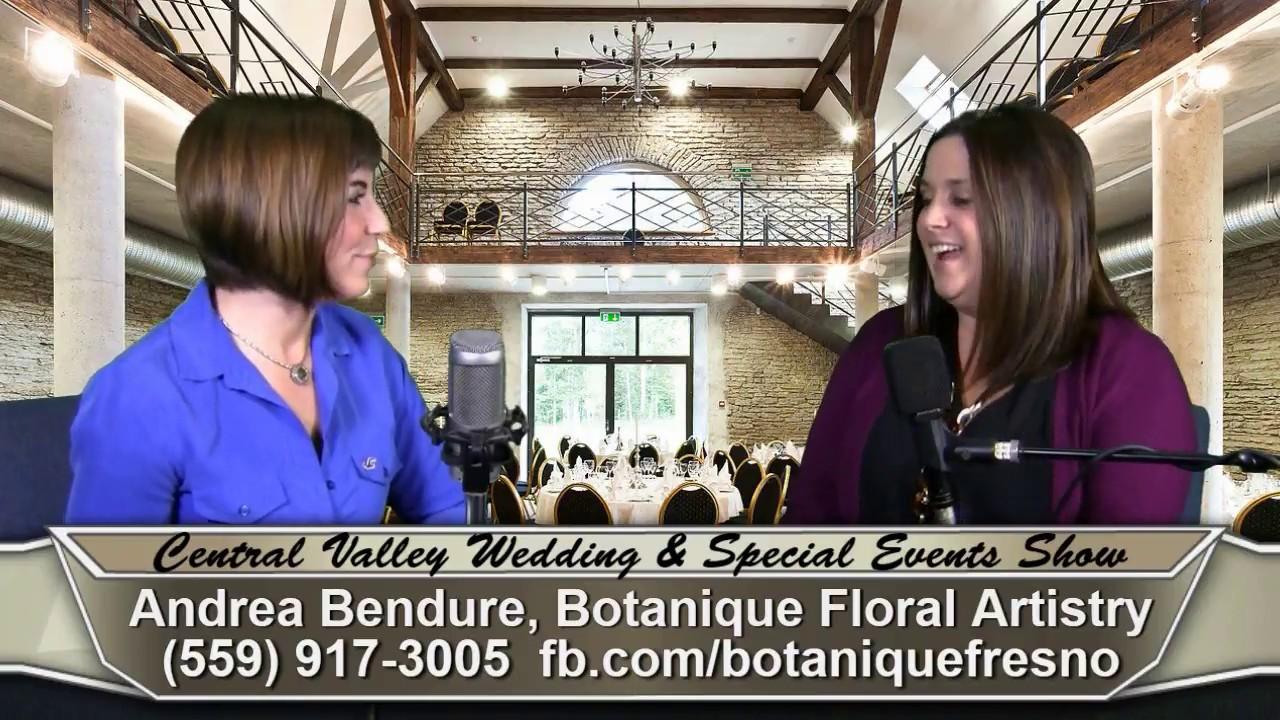 Andrea Bendure Of Botanique Floral Artistry, Floral U0026 Event Design, On  Central Valley Wedding