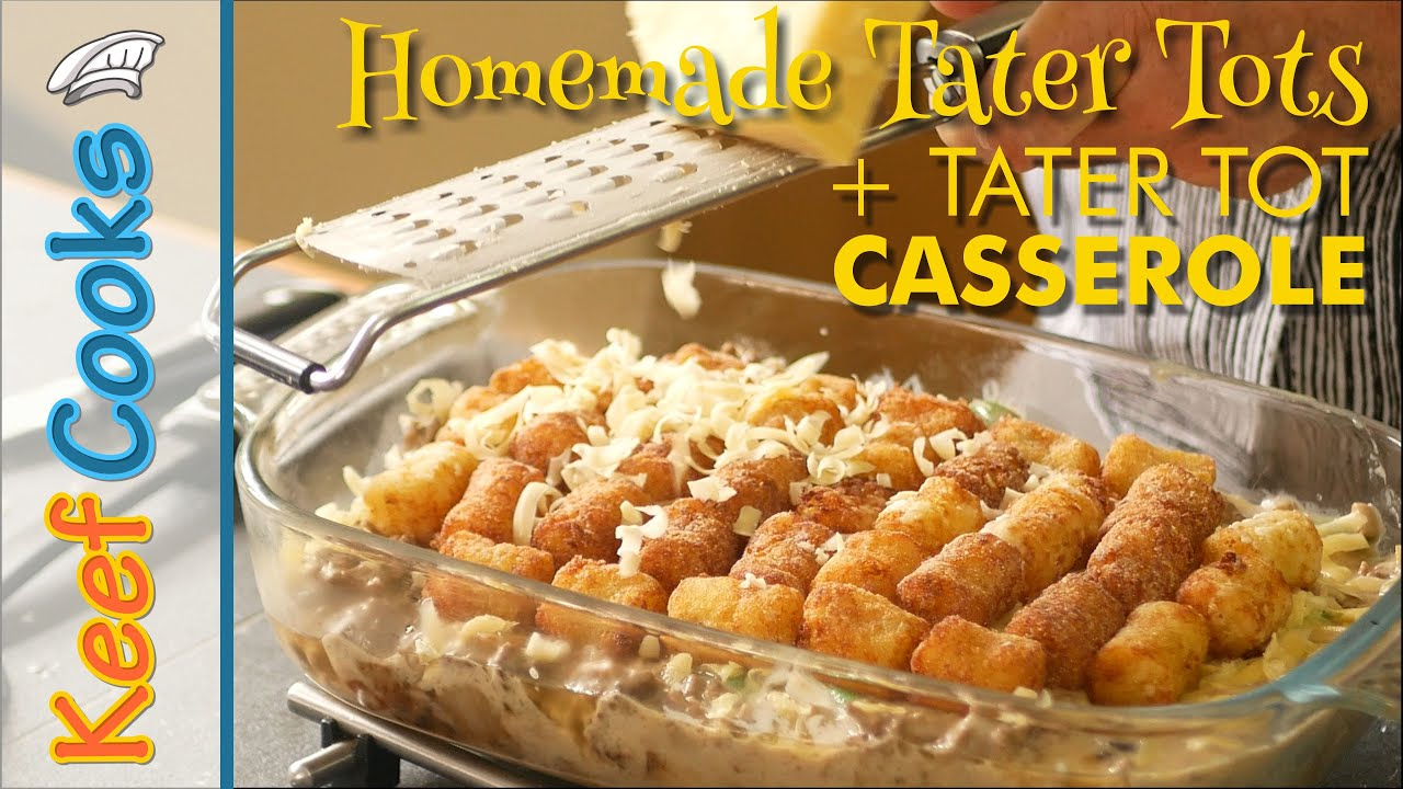 Download Tater Tot Casserole | Homemade Tater Tots