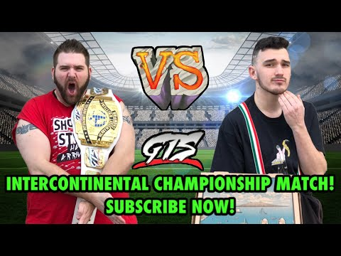3 EPIC GTS Championship Matches PPV SUPERCARD! Tables Match for Intercontinental Championship!
