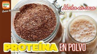 Proteína en polvo hecha en casa  Cocina Vegan Fácil