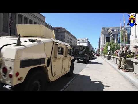 Idaho ARNG Supports Civil Unrest Response Efforts, DC, UNITED STATES, 06.08.2020