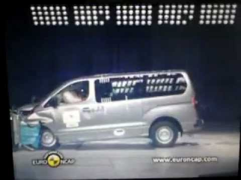 The NCAP Hyundai H 1 2012 Crash Test
