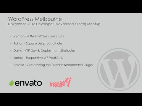 WordPress Melbourne November 2013 Developers (Advanced/Tech) Meetup