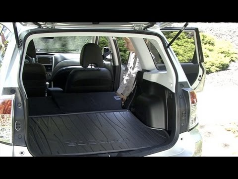 2010 Subaru Forester - Cargo Capabilities
