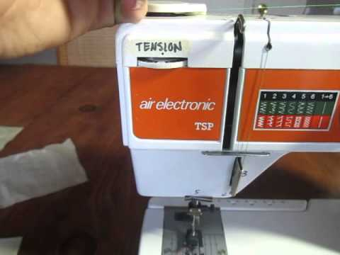 How To Thread And Use An Elna TSA Sewing Machine YouTube Delectable How To Thread A Elna Sewing Machine