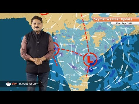 Weather Forecast for Sep 22: Monsoon active in Mumbai, goa, Pune, Hyderabad
