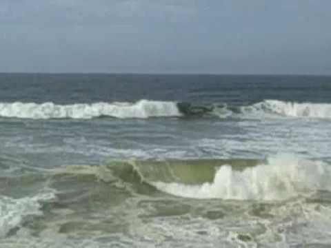 Surfing Hurricane Bill At Fat La S Beach Nantucket