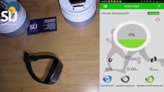 Como sincronizar el Reloj Smartwatch Q18 Nfc Curvo Con Android
