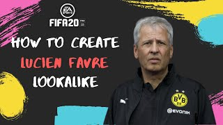 How to Create Lucien Favre - FIFA 20 Lookalike