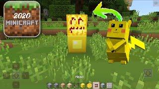 How to Spawn Pikachu in MiniCraft 2020 screenshot 2