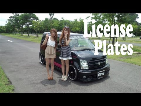 Japanese License Plates - MULLY
