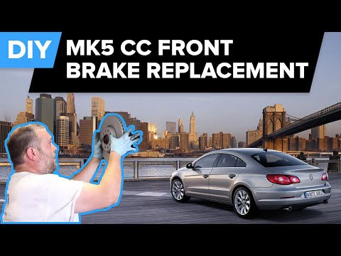 VW Front Brake Replacement – Thorough/Easy DIY (Passat, CC, Jetta, Eos,  Golf)