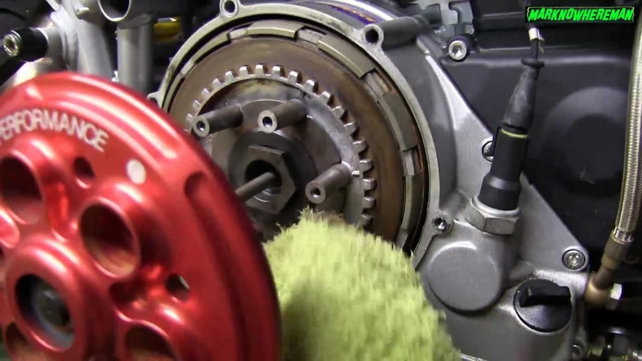 Ducati Superbike S Open Dry Clutch Maintenance Video