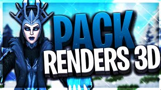 PACK RENDERS 3D FORTNITE (GRATUIT)