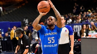 Pierre Jackson's First Round at 2017 NBA D-League Three-Point Contest