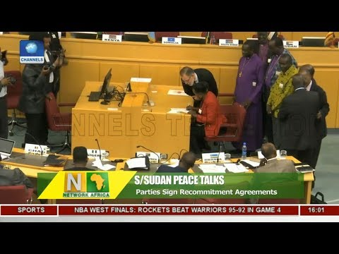 S/Sudan Peace Talks: Parties Sign Recommitment Agreements |Network Afric|