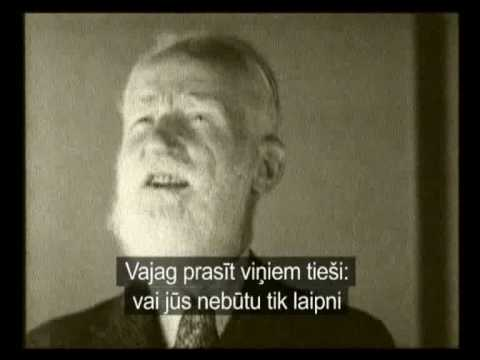 George Bernard Shaw Defends Hitler, Mass Murder