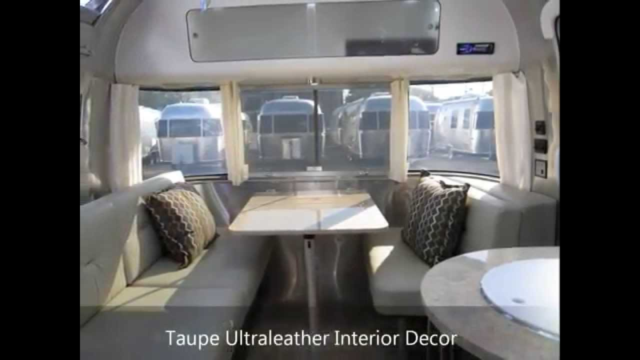 What Is An Airstream >> 2013 Airstream International Signature 23D Taupe Ultra Modern Trailer Design Like Custom - YouTube