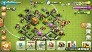 Primeiro video do canal .clash of clans.clash Royale,Bem loko