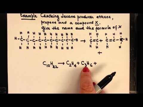 IGCSE Alkanes Alkenes 5 Cracking  Alkanes exercise