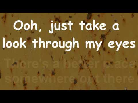 Phil Collins - Take a look through my eyes -  Lyrics - HD audio and video