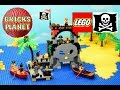 Skull Island 6279 LEGO Pirates - Stop Motion Review