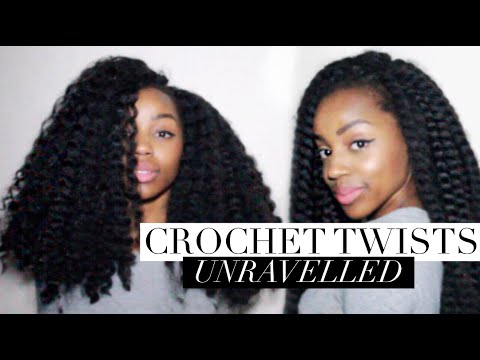 Natural Looking Twist Out Crochet Jumbo Twists Unravelled Twist