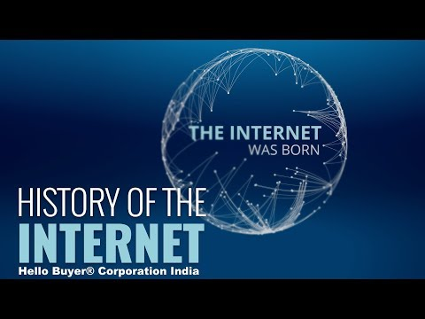 History of the Internet | Hello Buyer® Corporation India