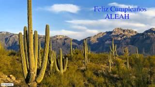 Aleah  Nature & Naturaleza - Happy Birthday