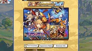 Dragalia Lost - Five [Halloween Fantasia] Tenfold Summons (iOS)