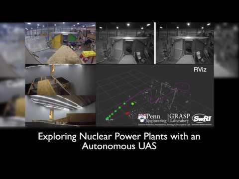 Exploring Nuclear Power Plants with an Autonomous UAS