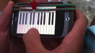 ida 3endkoum 9a3ida jamahiriya avec piano htc