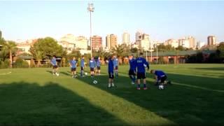 Eesti jalgpallikoondise trenn Istanbulis