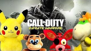 Pikachu, Freddy, Foxy And Bowser Jr Play Call Of Duty Infinite Warfare