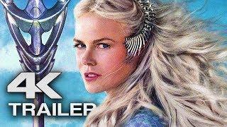 Aquaman Trailer 3  4k Ultra Hd  2018 - Jason Momoa Superhero Movie