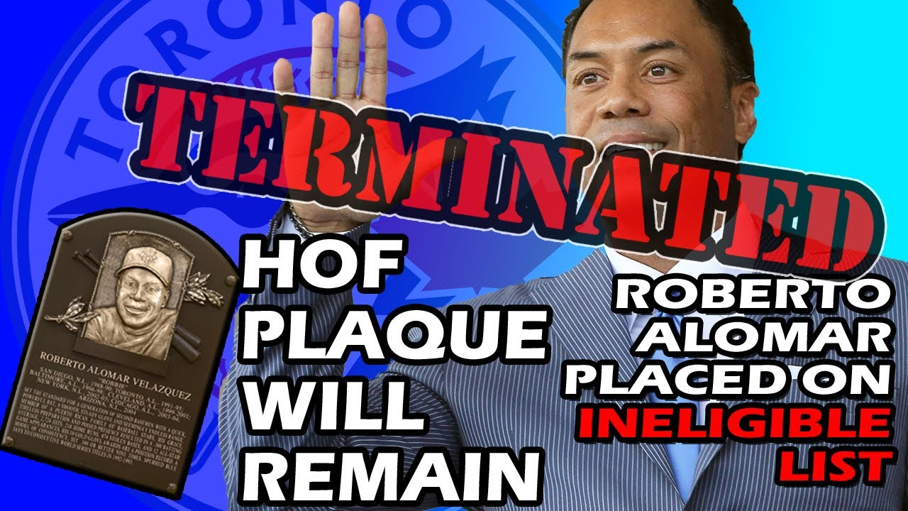 Roberto Alomar Is Placed on Baseball's Ineligible List