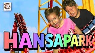 ERSTES MAL ALLEINE IN DER ACHTERBAHN 🎢 Hannah & Ash machen den Hansapark unsicher!