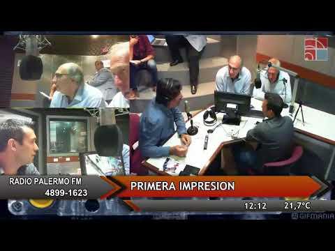 CAEGA Radio Palermo - Primera impresión 28 de Marzo 2018