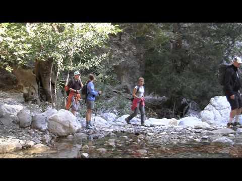 SamariaRavinen, Samaria Gorge Crete october 2013