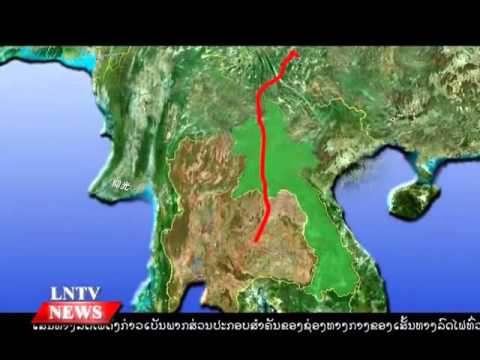 Lao NEWs no LNTV: Govt to negotiate for lower interest-rate rail loan from China.30/10/2015