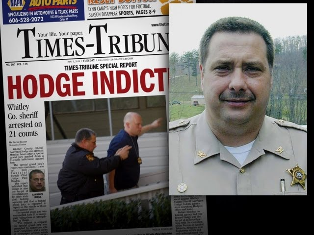 Corrupt Kentucky sheriff brought down by reporters