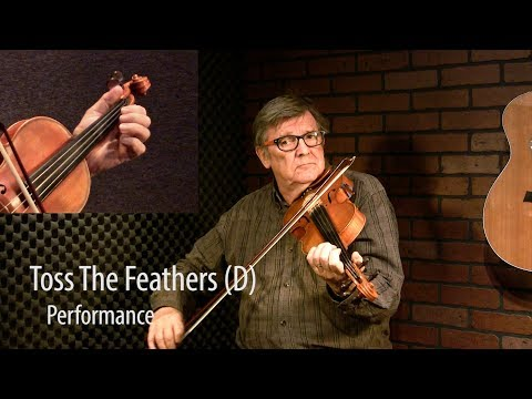 Toss the Feathers (D) - Trad Irish Fiddle Lesson by Kevin Burke