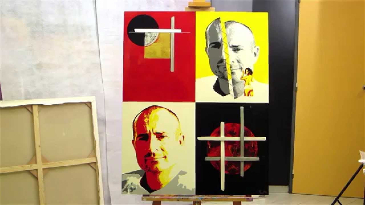 atelier peinture et autoportrait de l 39 artiste peintre olivier boutin youtube. Black Bedroom Furniture Sets. Home Design Ideas