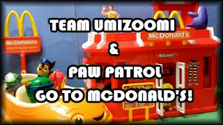 Video Team Umizoomi & Paw Patrol Go To McDonald's download MP3, 3GP, MP4, WEBM, AVI, FLV Agustus 2018