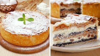 Балканский пирог с творогом и яблоками - Рецепты от Со Вкусом